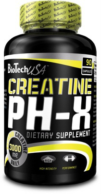 BioTechUSA Creatine pH-X 90 kapslí