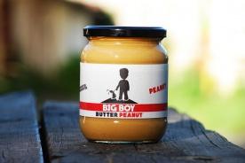 BigBoy Arašídový krém ( Peanut Butter) 550g
