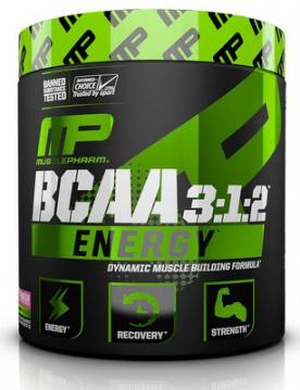 MusclePharm BCAA 3:1:2 Energy 276g