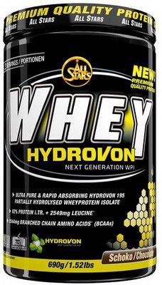 All Stars Whey Hydrovon 690 g - vanilka PROŠLÉ DMT