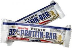 Weider 32% Protein Bar 60 g - PROŠLÉ DMT