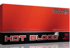 Scitec Hot Blood 3.0 90 kapslí