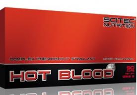 Scitec Hot Blood 3.0 90 kapslí VÝPRODEJ