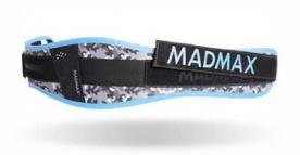 MAD MAX Dámský fitness opasek WMN - SWAROVSKI MFB314 modrá