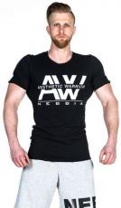 Nebbia Aesthetic Warrior tričko 127 černé VÝPRODEJ