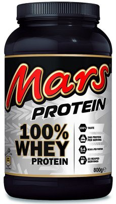 Mars 100% Whey Protein Powder 800g