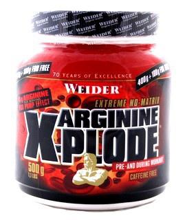 Weider Arginine X-Plode 500 g PROŠLÉ DMT