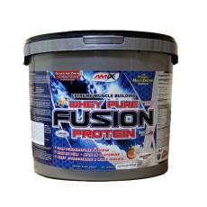 Amix Whey Pure Fusion Protein 4000 g - vanilka VÝPRODEJ (POŠK.OBAL)