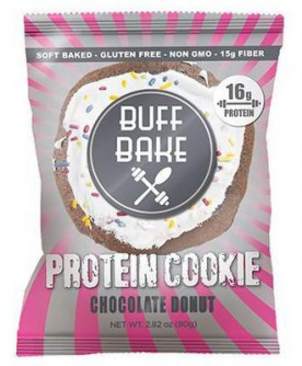 Buff Bake Protein Cookie 80 g - chocolate donut VÝPRODEJ