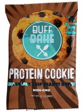 Buff Bake Protein Cookie 80 g - čokoláda/arašídové máslo