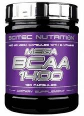 Scitec Mega BCAA 1400 180 kapslí