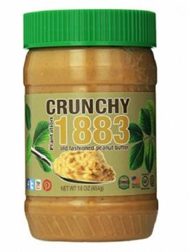 Bell Plantation Arašídové máslo 1883 454g - crunchy VÝPRODEJ