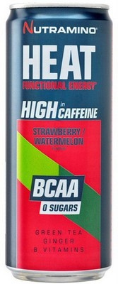 Nutramino HEAT BCAA 330 ml  1 + 1 ZDARMA