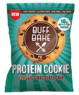Buff Bake Protein Cookie 80 g - chocolate chocolate  chip VÝPRODEJ