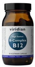 Viridian B-Complex B12 High Twelwe® 90 kapslí