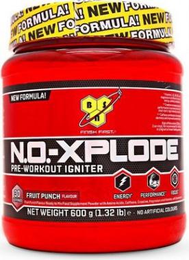 BSN N.O.-Xplode 3.0 Pre-Workout Igniter 600 g - ovocný punč PROŠLÉ DMT