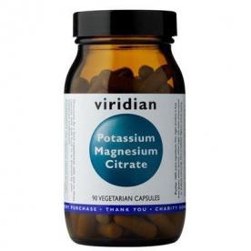 Viridian Potassium Magnesium Citrate 90 kapslí