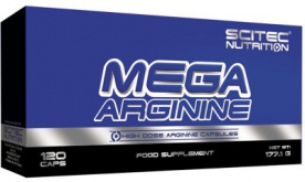 Scitec Mega Arginine 120 kapslí