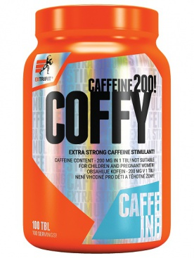 Extrifit Coffy Stimulant 200 mg 100 tablet