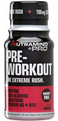Nutramino +PRO Pre-Workout Shot 60 ml