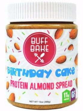 Buff Bake Protein Almond Butter 368 g VÝPRODEJ