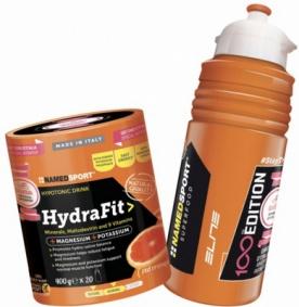 NamedSport Hydra Fit 400 g + bidon elite 100 let Giro
