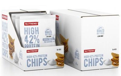 Nutrend High Protein Chips 6x40g