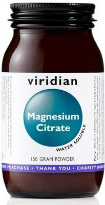 Viridian Magnesium Citrate Powder 150g