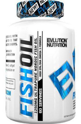 EVLution Nutrition Fish Oil 60 kapslí