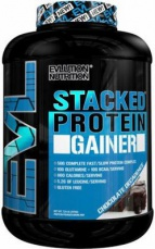 EVLution Nutrition Stacked Protein Gainer 3248 g PROŠLÉ DMT