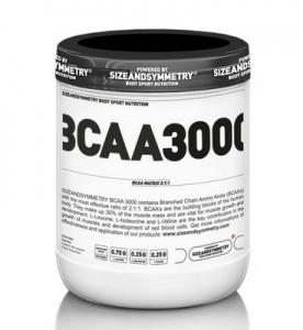 SizeAndSymmetry BCAA 3000 400 kapslí PROŠLÉ DMT