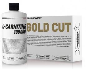 SizeAndSymmetry L-Carnitine 100 000 1000 ml + Gold Cut 60 kapslí