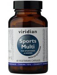 Viridian Sports Multi 60 kapslí