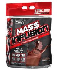 Nutrex Mass Infusion 5,45 kg - vanilka VÝPRODEJ (POŠK.OBAL)