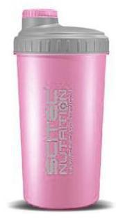 Scitec šejkr 700 ml růžový