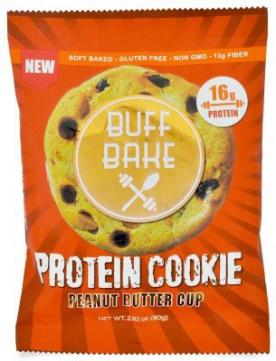 Buff Bake Protein Cookie 80 g - arašídové máslo PROŠLÉ DMT