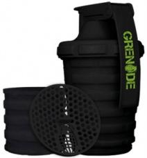 Grenade Šejkr 600 ml s dávkovačem - černý