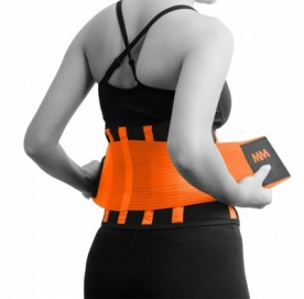 MAD MAX Slimming Belt MFA277 oranžová