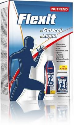Nutrend Flexit liquid 500 ml + Flexit 180 kapslí