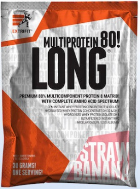 Extrifit Long 80 Multiprotein vzorek 30g
