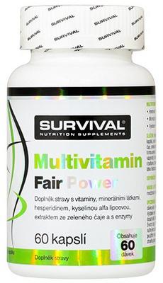 Survival Multivitamin Fair Power 60 kapslí