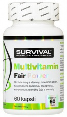 Survival Multivitamin Fair Power 60 kapslí