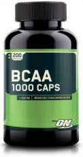 Optimum Nutrition BCAA 1000 caps 200 kapslí