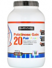 Survival Palatinose Gain 20 Fair Power 4500g PROŠLÉ DMT