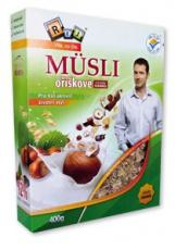 REJ Müsli oříškové s kousky čokolády 400g