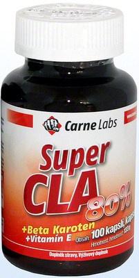 Carne Labs Super CLA 80 100 kapslí VÝPRODEJ
