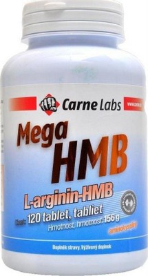 Carne Labs Mega HMB L- Arginin 120 tablet VÝPRODEJ