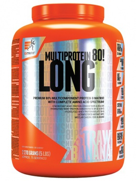 Extrifit Long 80 Multiprotein 2270 g - vanilka