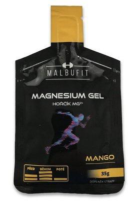 Malbufit Magnesium Gel 35 g - mango PROŠLÉ DMT