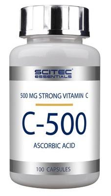 Scitec Vitamin C-500 100 kapslí